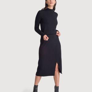 Kit and Ace cashmere blend dress 0 EUC